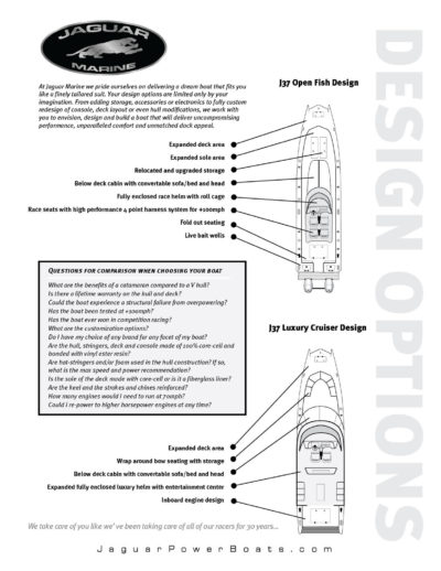 Jaguar Marine Design Options
